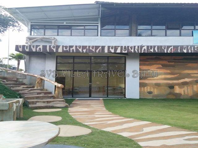 villa di batu untuk rombongan berbagai acara sekolah, kantor,