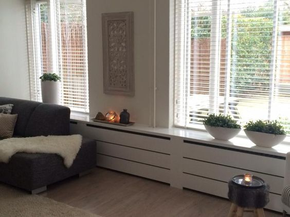 Bekijk de foto van Annelies2day met als titel Radiatorombouw in de woonkamer en andere inspirerende plaatjes op Welke.nl.