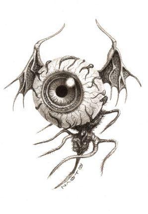 ✯ Virus 011 .. Artist Naoto Hattori✯ This is an amazing tattoo idea.