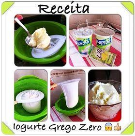 Diário sobre a dieta e receitas Dukan - @reedukan - Do Instagram ao Blog: Iogurte Grego Zero #homemade