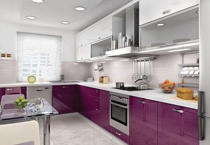 Mutfak Dolabı Modelleri Dekoratif Ve Şık