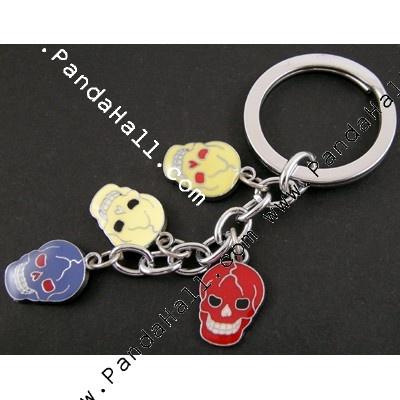 Enamel Alloy Key Chain AKC034-19-1