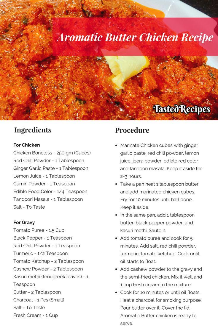 Butter Chicken Butter Chicken Recipe Tastedrecipes Recipe Recipes Chicken Recipes Butter Chicken