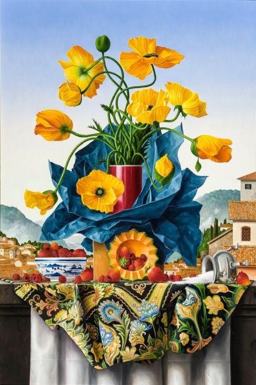 James Aponovich (b.1948) —  (499×750)
