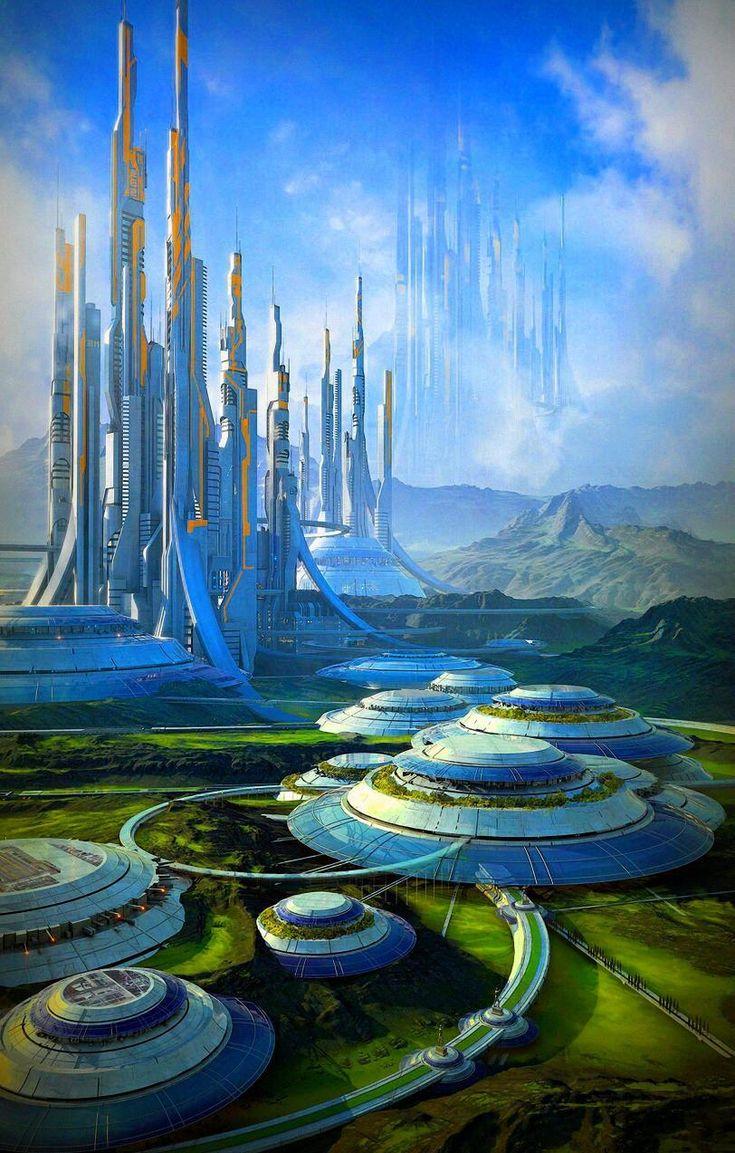 Картинка будущего земли