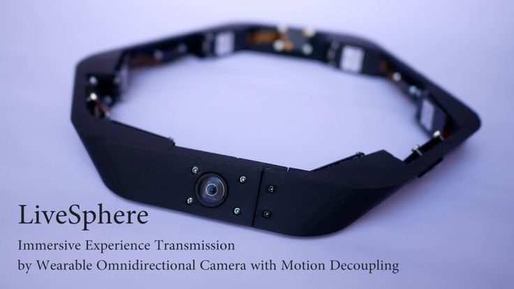 LiveSphere: Immersive Experience Transmission by Wearable Omnidirectional Camera with Motion Decoupling