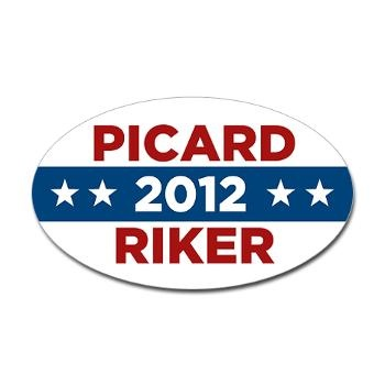 Picard/Riker 2012: Trek Picard, Idea, Stickers, Stars, Startrek, Picard Riker, Star Trek