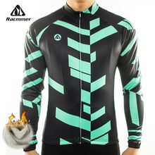 Racmmer 2016 Cycling Jersey Winter Long Bike Bicycle Thermal Fleece Ropa Roupa De Ciclismo Invierno Hombre Mtb Clothing #ZR-04(China (Mainland))