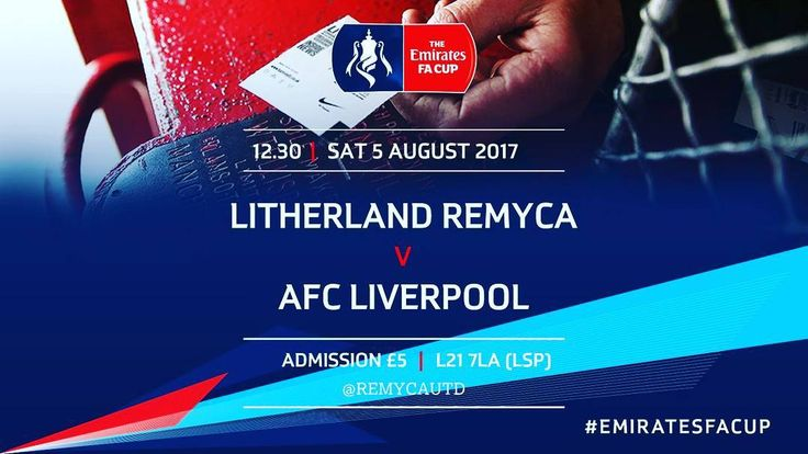 This Saturday 12.30 kick off. FA Cup starts here.  #facup  #liverpool  #nonleague