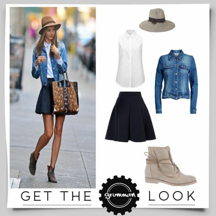 Get the Grumman Look: Tα Grumman boots με τα μακριά κορδόνια χαρίζουν extra τσαχπινιά στο Look σας! #GrummanLook