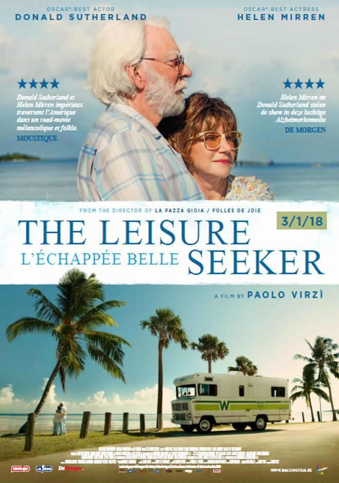 The Leisure Seeker January 19 2018 An Adventure Comedy Drama Film Directed By Paolo Virzi Written By Streaming Movies Online Full Movies Streaming Movies