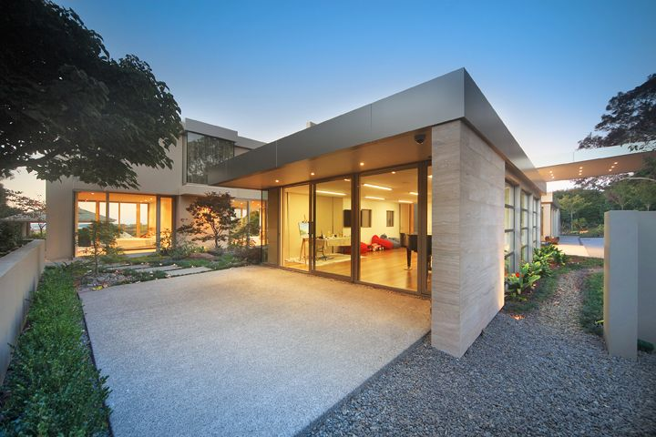 New House with internal courtyard.