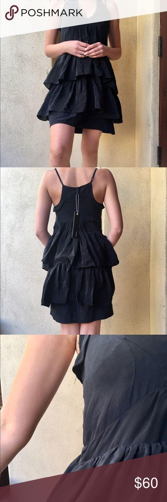 Black Staple dress Perfect LBD. Originally $185! Very flattering. Australian brand 'Staple'. NWT! Staple Dresses