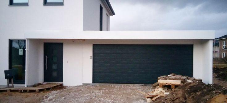 Fertiggarage mit carport anbau  Garagen-Carport-Kombination als Fertiggarage | Garage | Pinterest ...