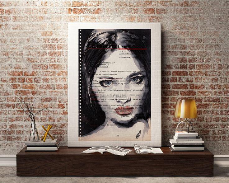 Liudmila - Fine Art print, Ready to print, affordable ART by LaylaOzArt on Etsy