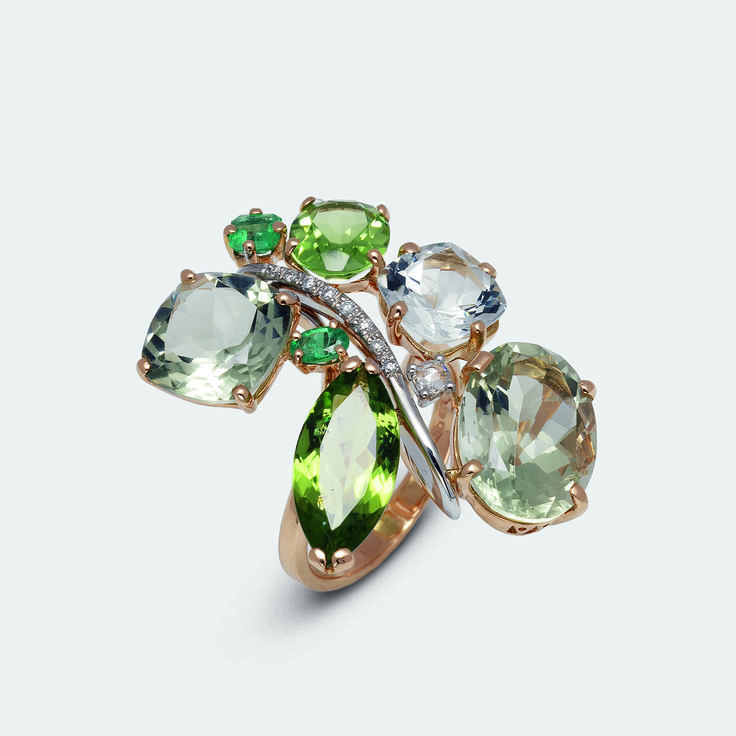 #ring from Vivaldi collection #pontevecchiogioielli #rosegold