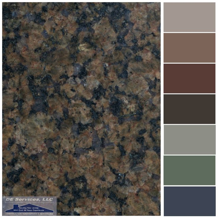 Dark Brown Granite Colors : Best ideas about brown granite on pinterest