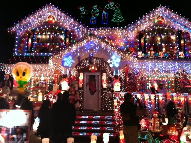 I hope the phrase if one goes out they all go out doesn - Large bulb exterior christmas lights ...