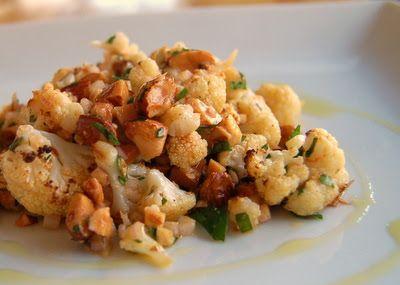 Smoky Cauliflower Almond Salad