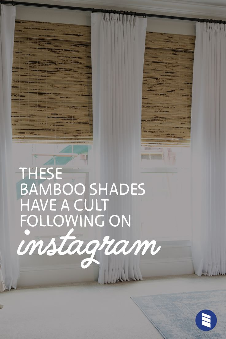 These Bamboo Shades Have a Cult Following on Instagram