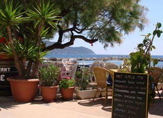 A Beach Restaurant in Cala Bona Majorca Spain