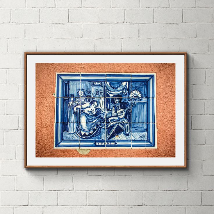 028_PrintAzulejos, Azulejos, Poster, Wall, Printable, Portugal, Pattern, Tiles, Photography, Instant download