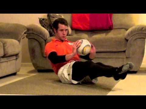 Soccer Workouts For Abs: 4 Minute At Home Soccer Workout For Abs - YouTube
