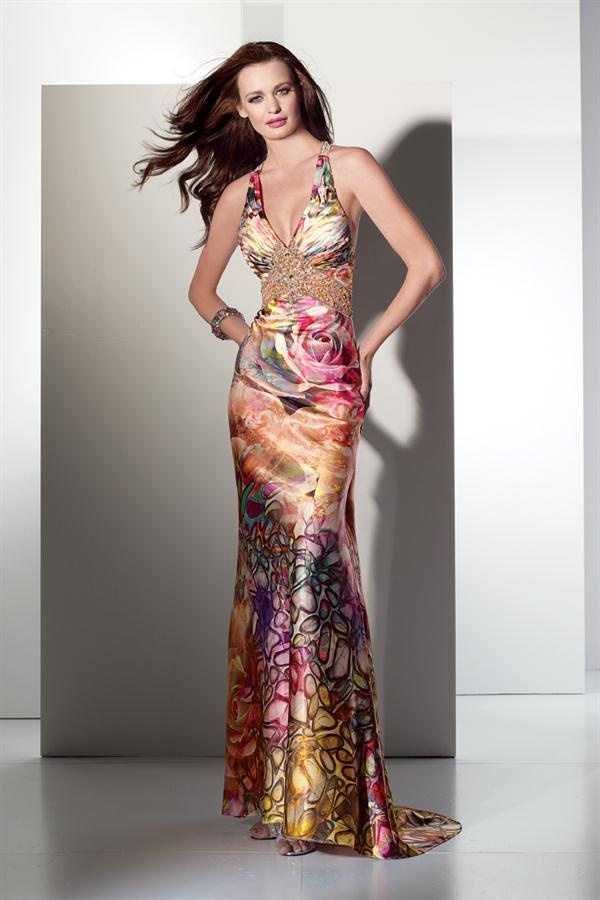 115 best printed dresses images on pinterest prom