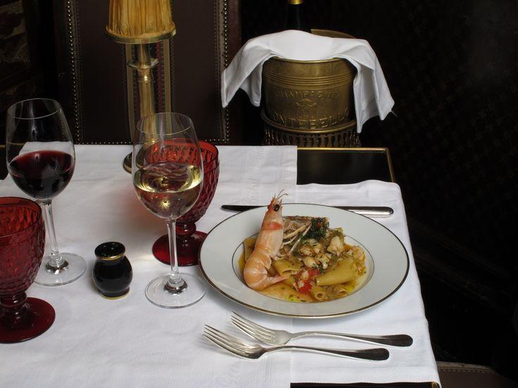 Paccheroni & king prawn