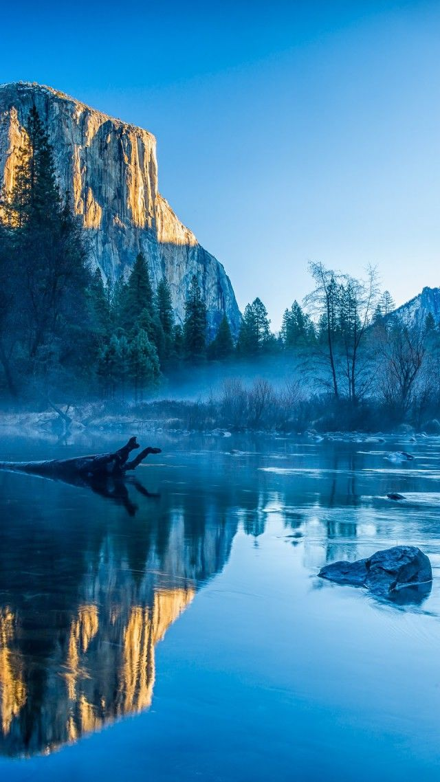 Winter Hd Wallpapers For Mobile Nature, Yosemite, Wallpaper
