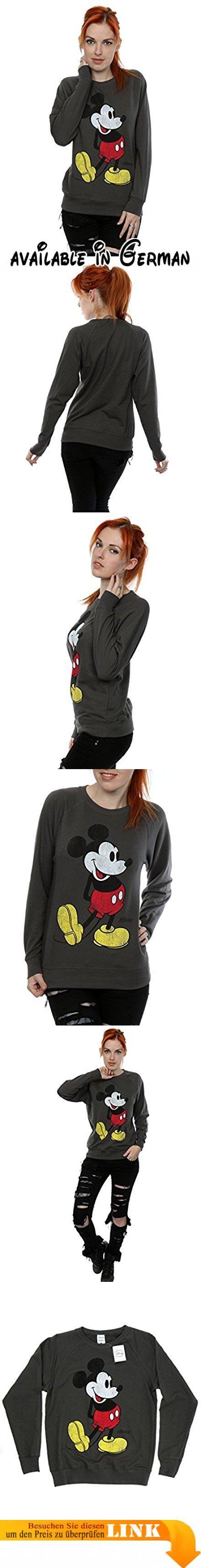 Disney Damen Mickey Mouse Classic Kick Sweatshirt XX-Large Licht Graphite. Offiziell lizenzierte Waren mit allen autorisierten Lizenzgeber Branding, Verpackung und Kennzeichnung. 240gsm leichtes Kleidungsstück perfekt für den Sommer oder tragen das ganze Jahr über.. Leichtes unbrushed Vlies, Raglanärmel und geformter Seitennähte für eine feminine Form.. Bitte überprüfen Sie Ihre Dimensionierung Enttäuschungen zu vermeiden. Unsere Größe X-Small ist das Äquivalent