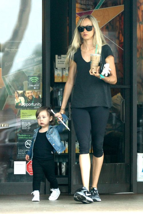 Kimberly Stewart and Delilah are a Starbucks duo