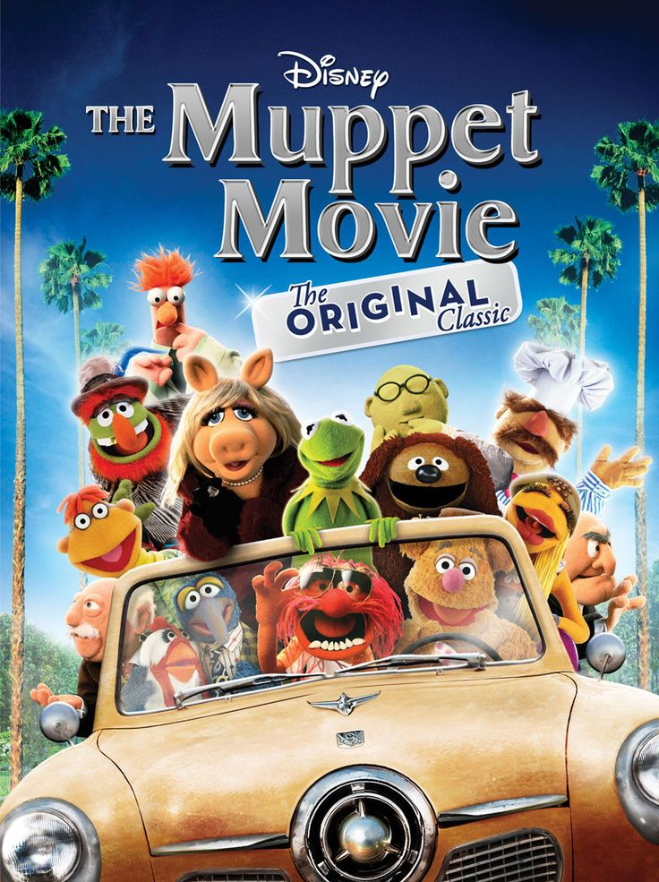 Run, don't Wocka Wocka: The Muppet Movie comes to Blu-ray Combo Pack and HD Digital 8/13!