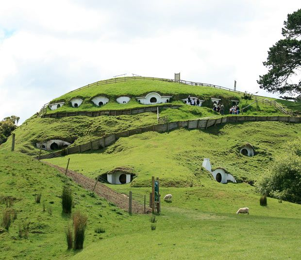 Matamata, New Zealand - Lord of the Rings