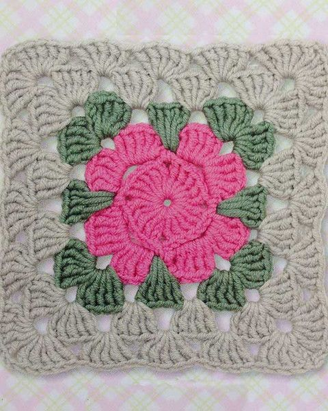 Picture of 75 Floral Blocks to Crochet