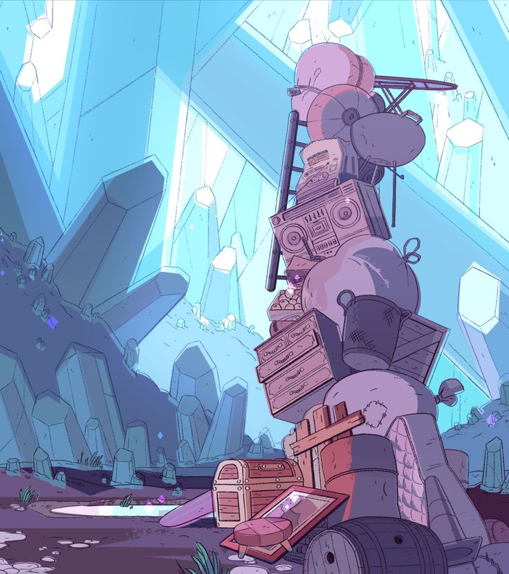 Steven Crewniverse Behind-The-Scenes Universe: A selection of Backgrounds from…