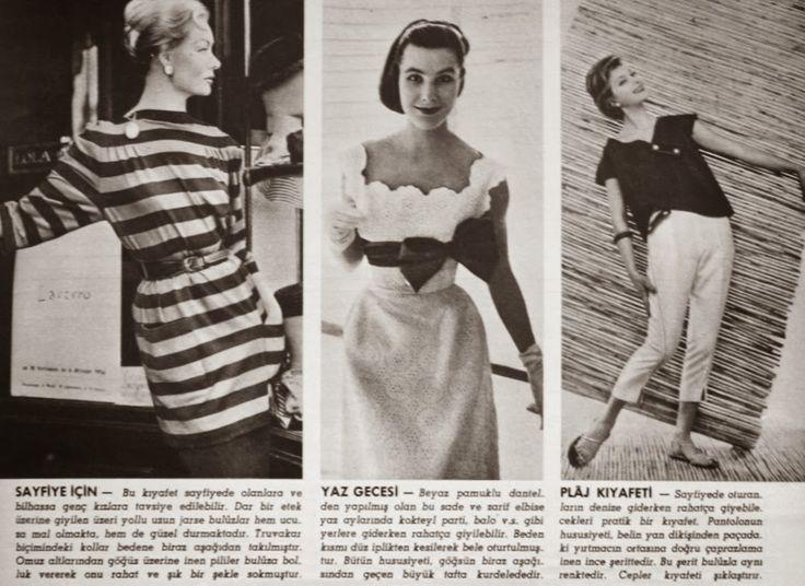 OĞUZ TOPOĞLU : 1957 sayfiye, yaz gecesi ve plaj kıyafetleri
