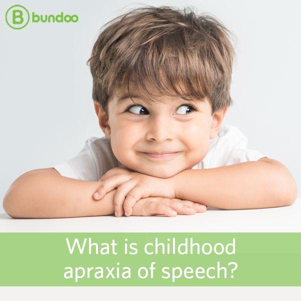 Child araxia of speech