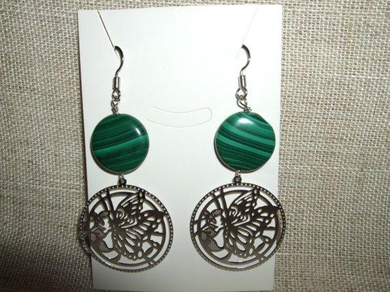 Guarda questo articolo nel mio negozio Etsy https://www.etsy.com/it/listing/502102348/orecchini-pendenti-in-pietra-dura