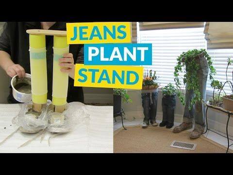 Blue Jean Plant Stand | Hometalk