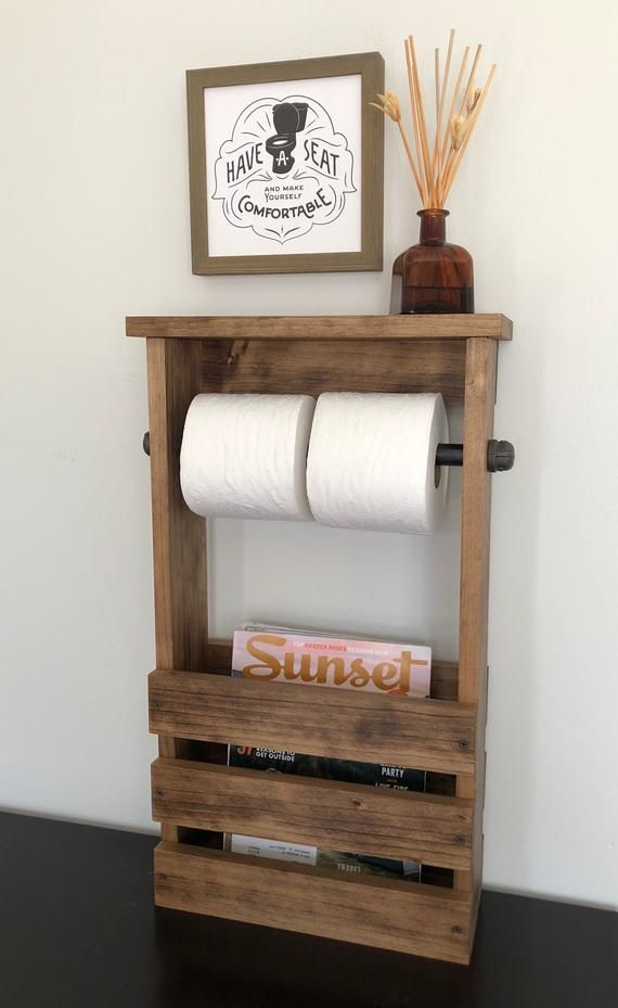 Toilet Paper Holder Free Standing Bathroom Magazine Rack Etsy Free Standing Toilet Paper Holder Toilet Paper Holder Bathroom Toilet Paper Holders