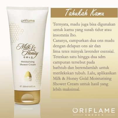 Milk and Honey Gold Shower cream yang begitu menenangkan..