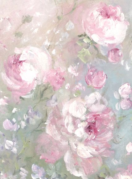 Morning Meadow Blossoms - Debi Coules Romantic Art