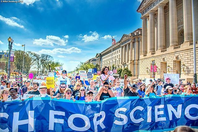 Little Miss Flint Amariyannamari Copeny Leads The March From The Science Rally Stage To The Capitol April 14th 2018 Flintmic March For Science Rally Science