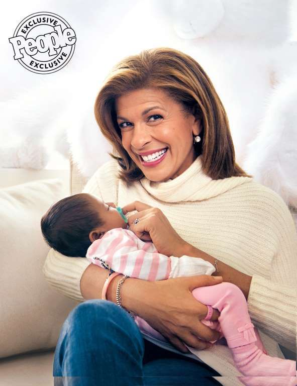 "2017 HALEY JOY Today anchor Hoda Kotb revealed she adopted daughter Haley Joy Kotb — born on Feb. 14. ""She's a Valentine's baby,"" Kotb gushed on Today, calling in to the NBC morning show to announce the big news. ""She is the love of my life.""  Today anchor Hoda Kotb revealed she adopted daughter Haley Joy Kotb — born on Feb. 14. ""She's a Vale... - Brian Doben"