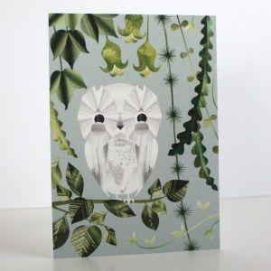 Huhuu-postikortti Annariikka Qvist