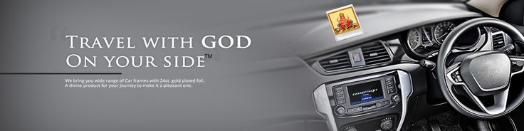 Travel with God on your side. Diviniti offers wide range of Gold plated car dashboard frames. Buy car dashboard god idols, photo frames & god statue for car online at Diviniti. For more details log on to https://www.diviniti.in/allcategories/car-dashboard-frame