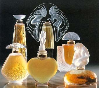 Lalique perfume bottles | House of Beccaria~