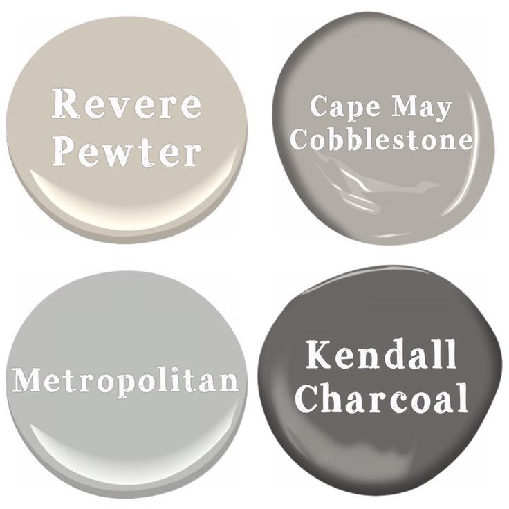 What color should I paint my house? GRAY! This neutral color isn't going away anytime soon. It gives a more modern, updated feel than a boring beige. Add pops of color with curtains, pillows, and wall art. Here are Benjamin Moore's best selling grays. My entire main floor is even painted in Revere Pewter.