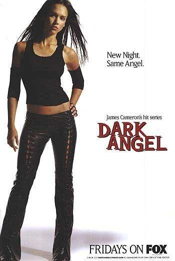 Dark Angel Sexy Jessica Alba Super RARE Original Fox TV Show 27x40 Poster P832 | eBay